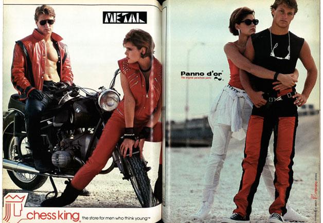 стиль мото 1980 стоппи.инфо GQ