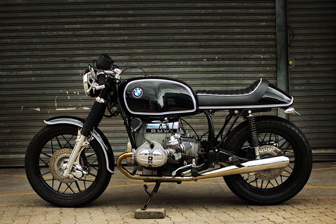 BMW cafe racer стоппи.инфо