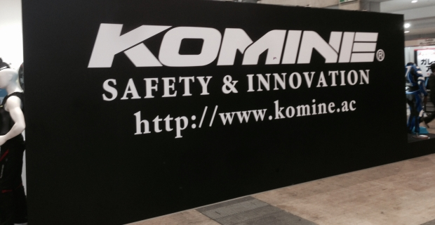 Komine и Tokyo Motorcycle show 2016